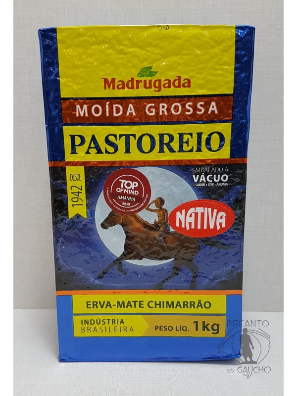 Erva Mate Madrugada Pastoreio Moída Grossa