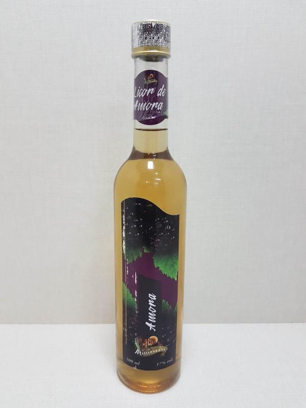 Licor de Cachaça Sabor Amora - 500ml