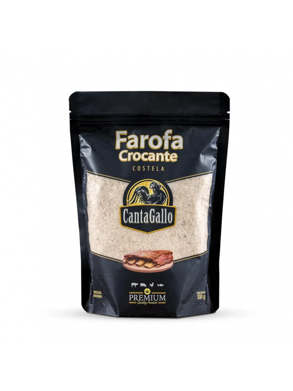Farofa Crocante Costela