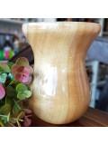 Cuia Para Chimarrão De Madeira Modelo Bago - Natural